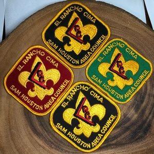 4 Boy Scouts Patches Lot | El Rancho Cima Houston